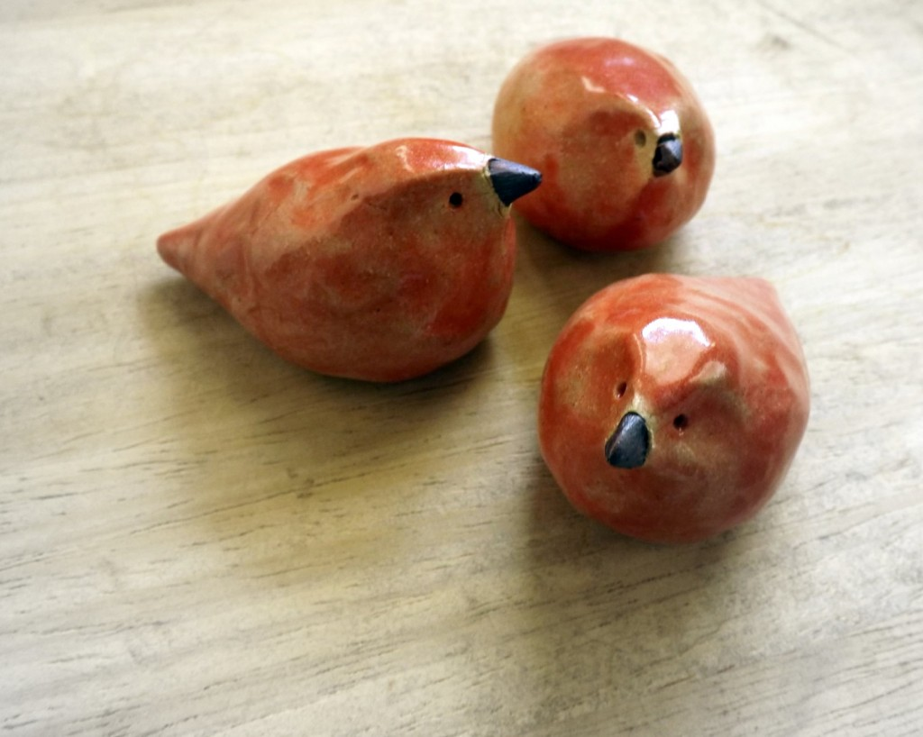 Choice Paralysis Ceramic Birds From Studio By The Forest