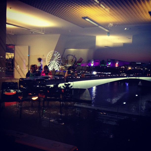 view out of the brisbane square library