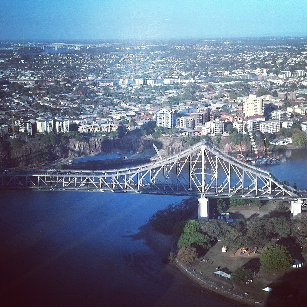 view of the story bridge brisbane