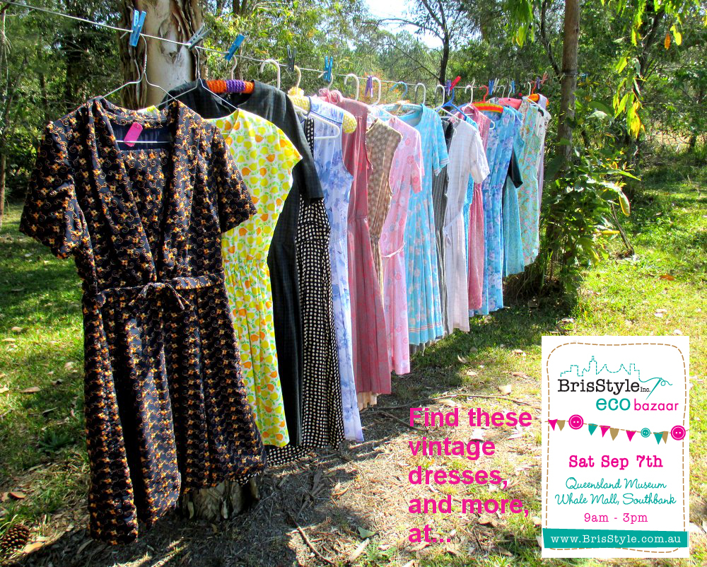 Vintette Vintage Dresses - Eco Market Button