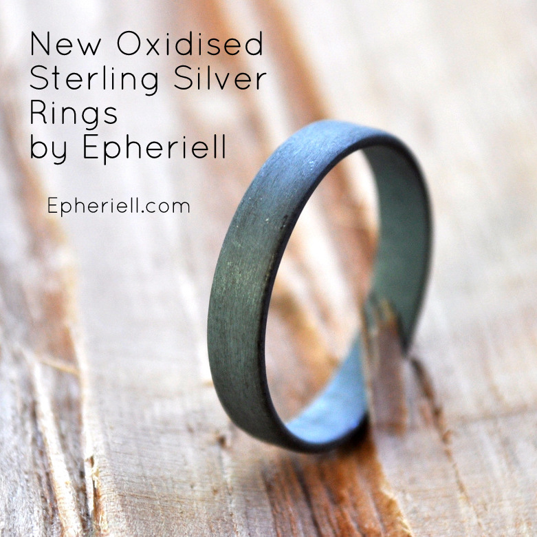 3.7mm wide oxidised flat ring (1)-002