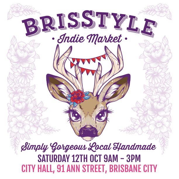 Epheriell at the BrisStyle City Hall Indie Market Tomorrow {Sat Oct 12}