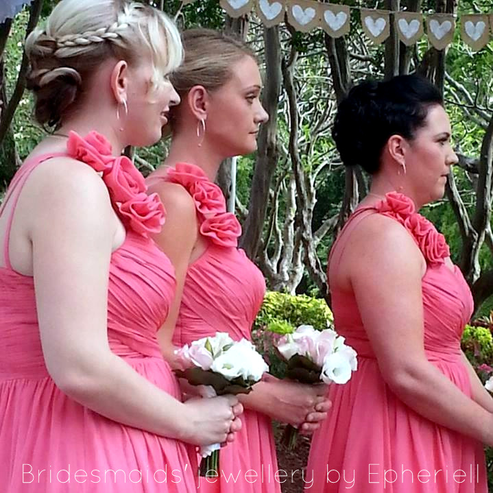 Tash's Wedding – Featuring Some Unique Bridesmaids Jewellery from Epheriell