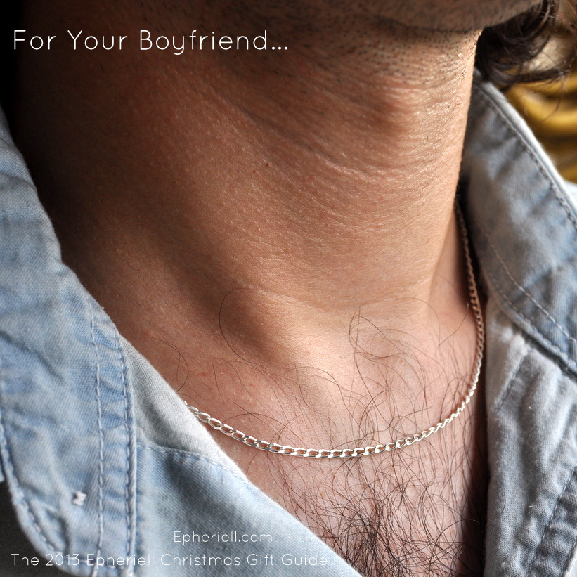 men's diamond cut curb chain necklace