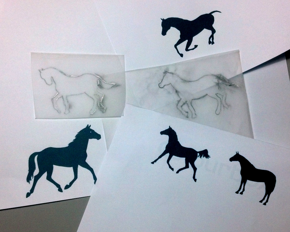 Custom Horse Jewellery Sketches