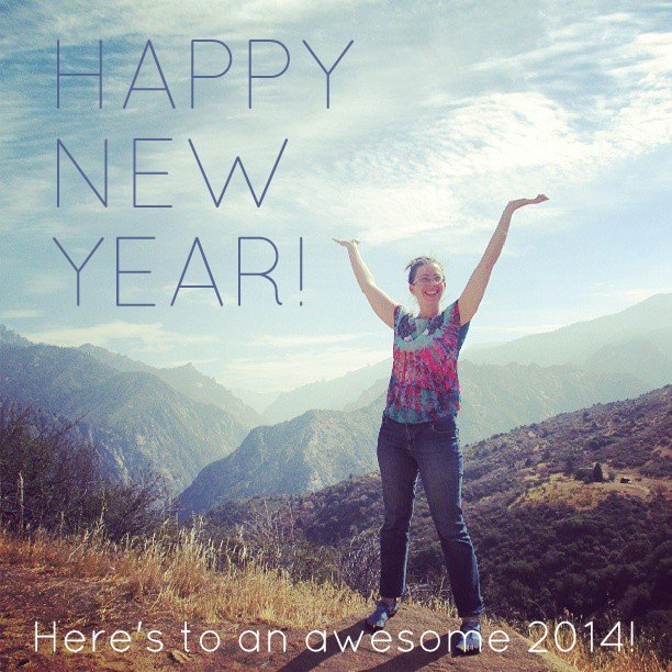 Happy New Year from Jess Van Den of Epheriell + Create & Thrive