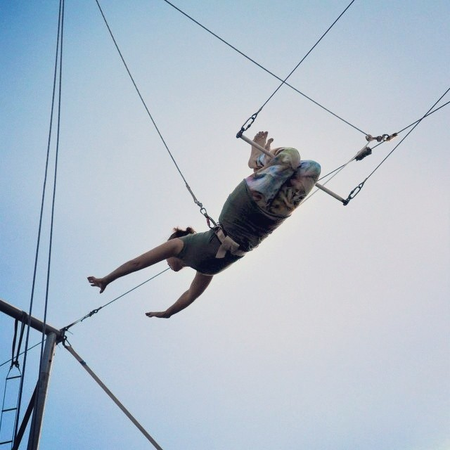 flying trapeze instagram