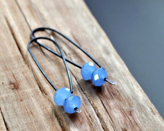 Glacier Blue - Oxidised Urban Candy Earrings - Swoop (1)