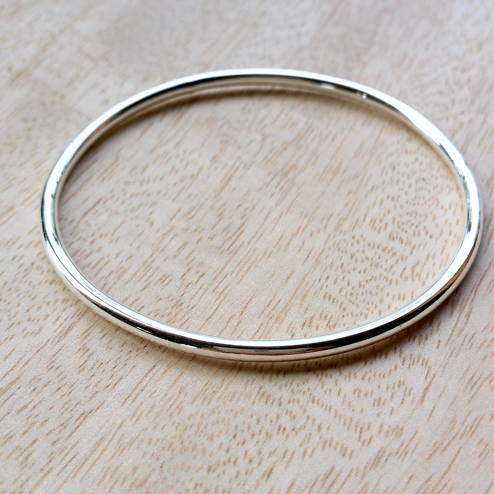 heavy sterling bangle 2