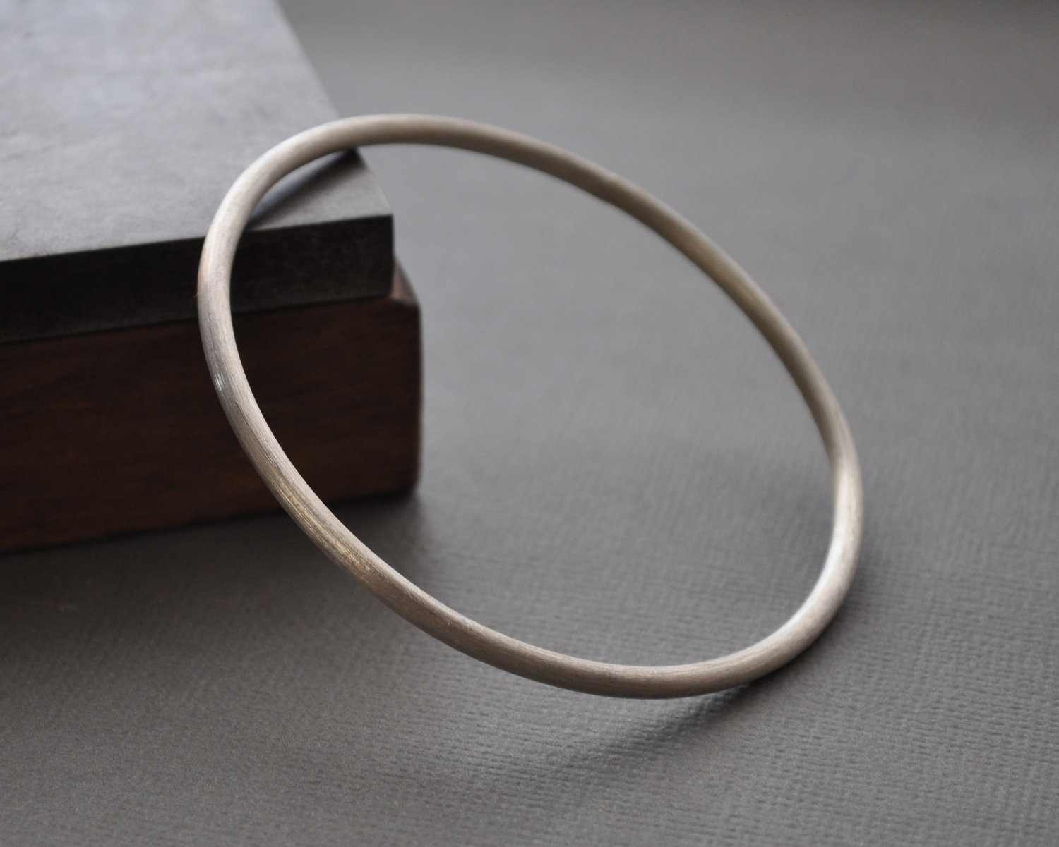 August 2014 Special – The Heavy Sterling Silver Bangle is $30 off!