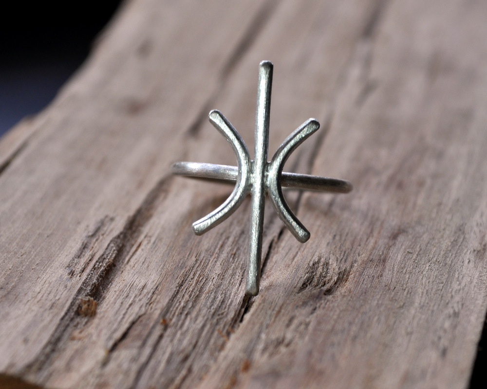 Starburst Ring in Silver (3)
