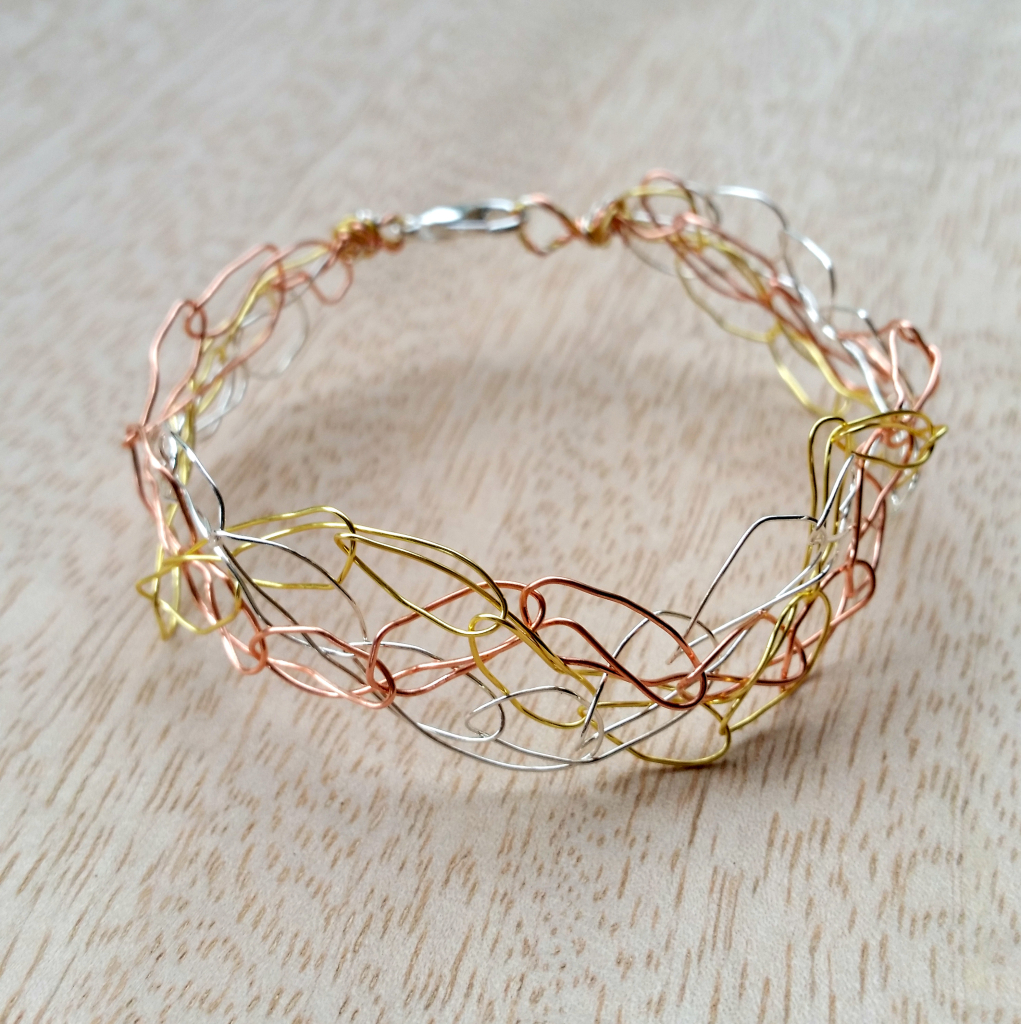 Metal Crochet Jewellery Workshop by Jess Van Den (1)