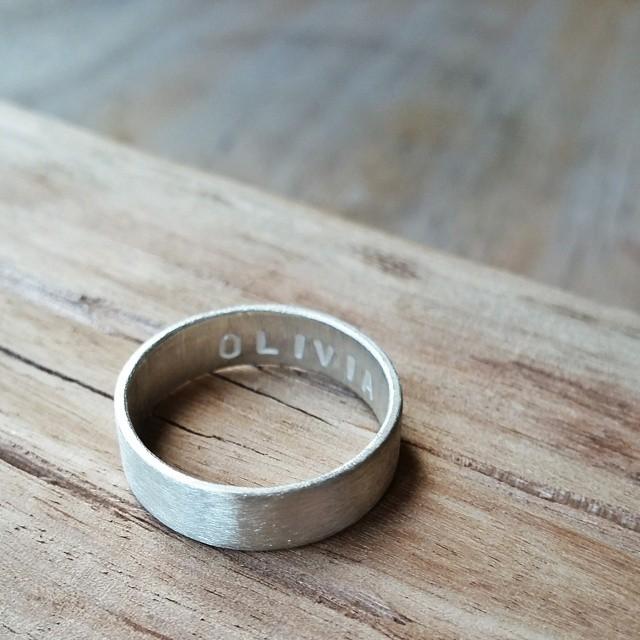 matte ring