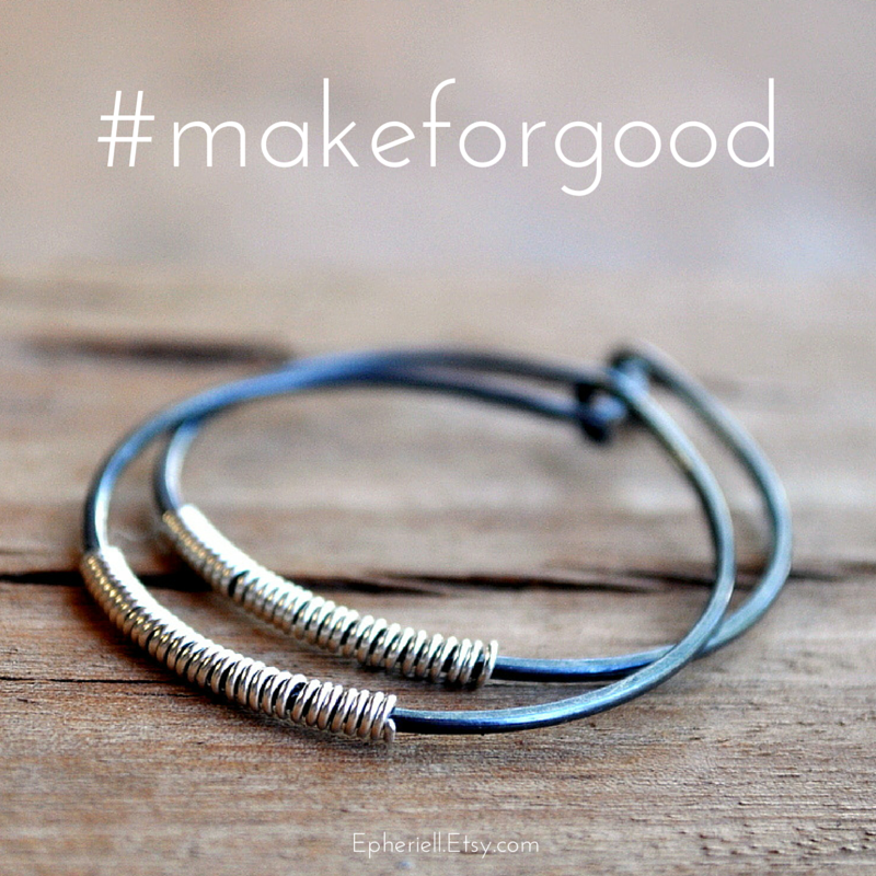 NEW #makeforgood Designs: 25% of all sales donated to Plan Australia's 'Because I am a Girl' Campaign