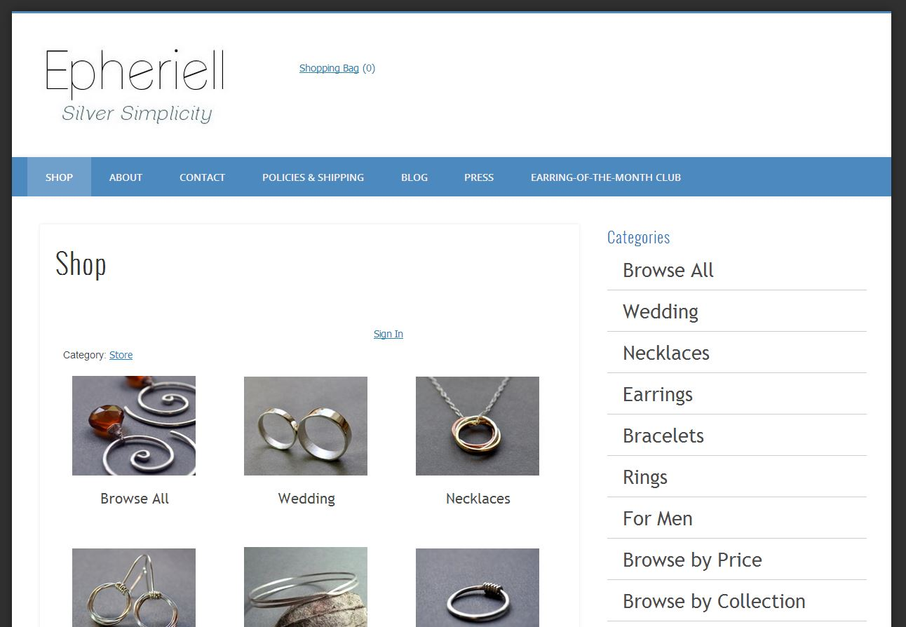 Welcome to the new and improved Epheriell.com