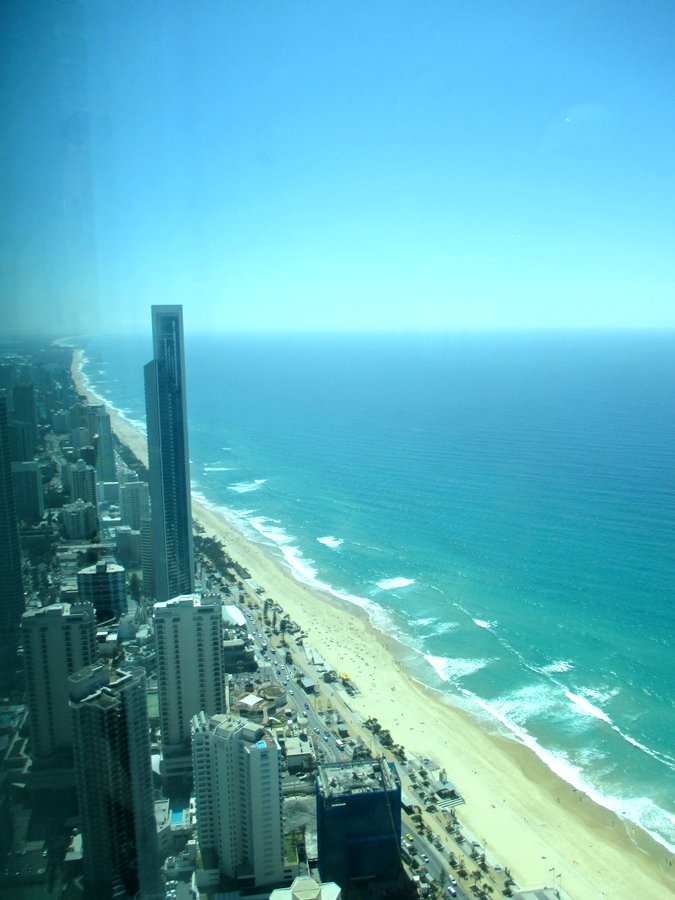 On Top of the World. Well, Skypoint on the Gold Coast, Anyways.