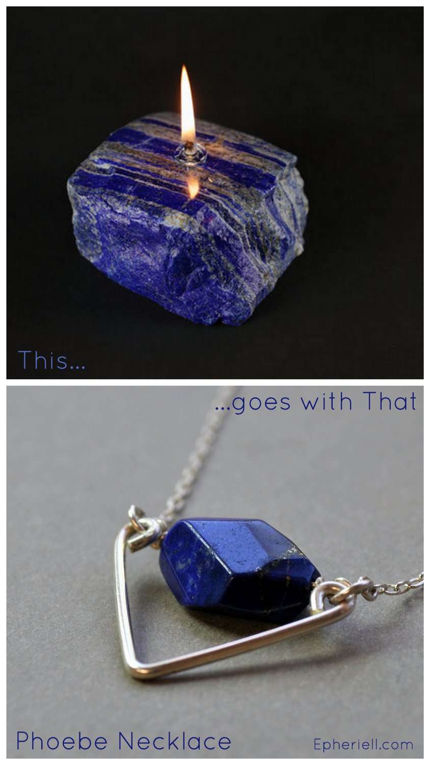 {This Goes With That} Lapis Lazuli