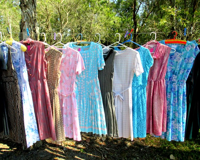 So, I'm Selling a TON of my Vintage Dresses this Weekend…