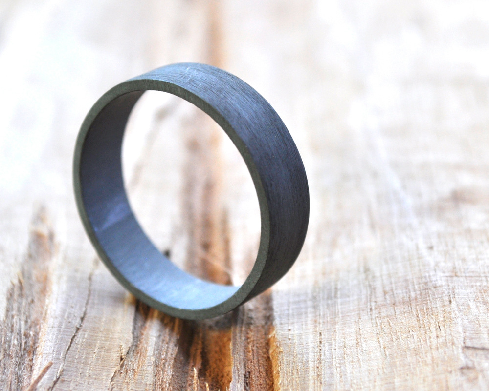New Oxidised Sterling Silver Wedding Rings + A Glimpse at the Weathering Process