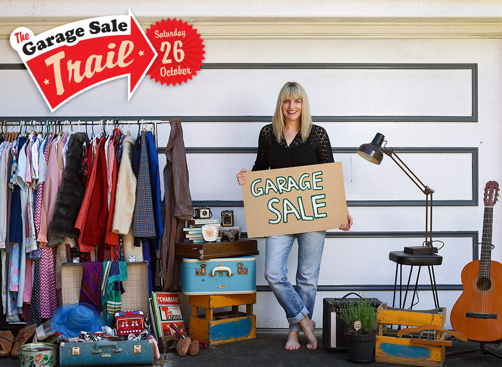 The Garage Sale Trail ~ Get Out There and Find Treasure ~ Saturday October 26th