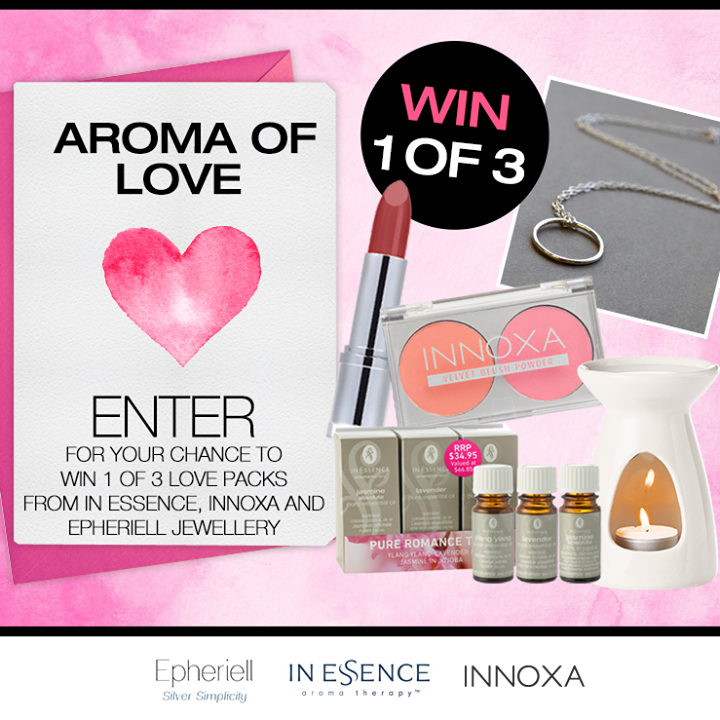 Giveaway: Epheriell Endless Necklace + Innoxia Makeup + In Essence Aromatherapy Kit