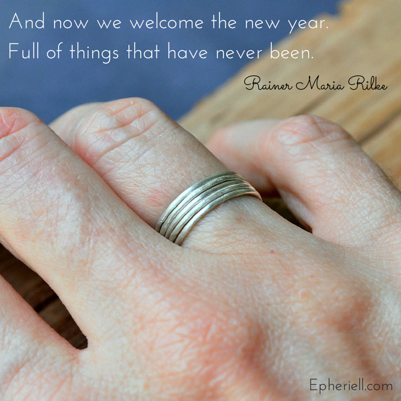 And now we welcome the new year…
