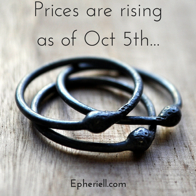 Reminder: Our Prices are Going up as of Next Week…