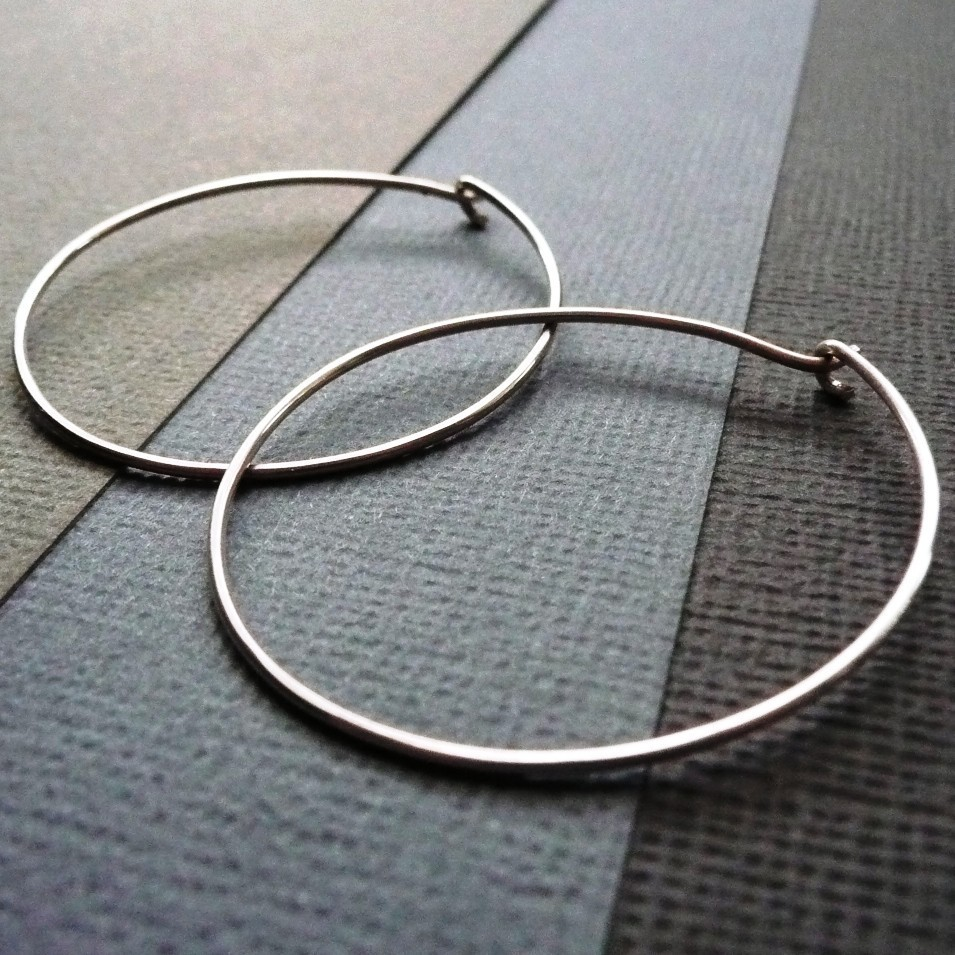 Citaten Hoop Hoopz : Sterling silver large hoop earrings epheriell