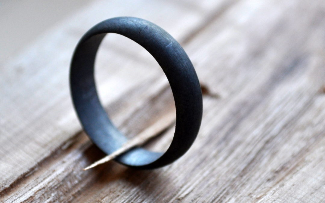 Men's Oxidised Sterling Silver Ring – Our Best-Seller!